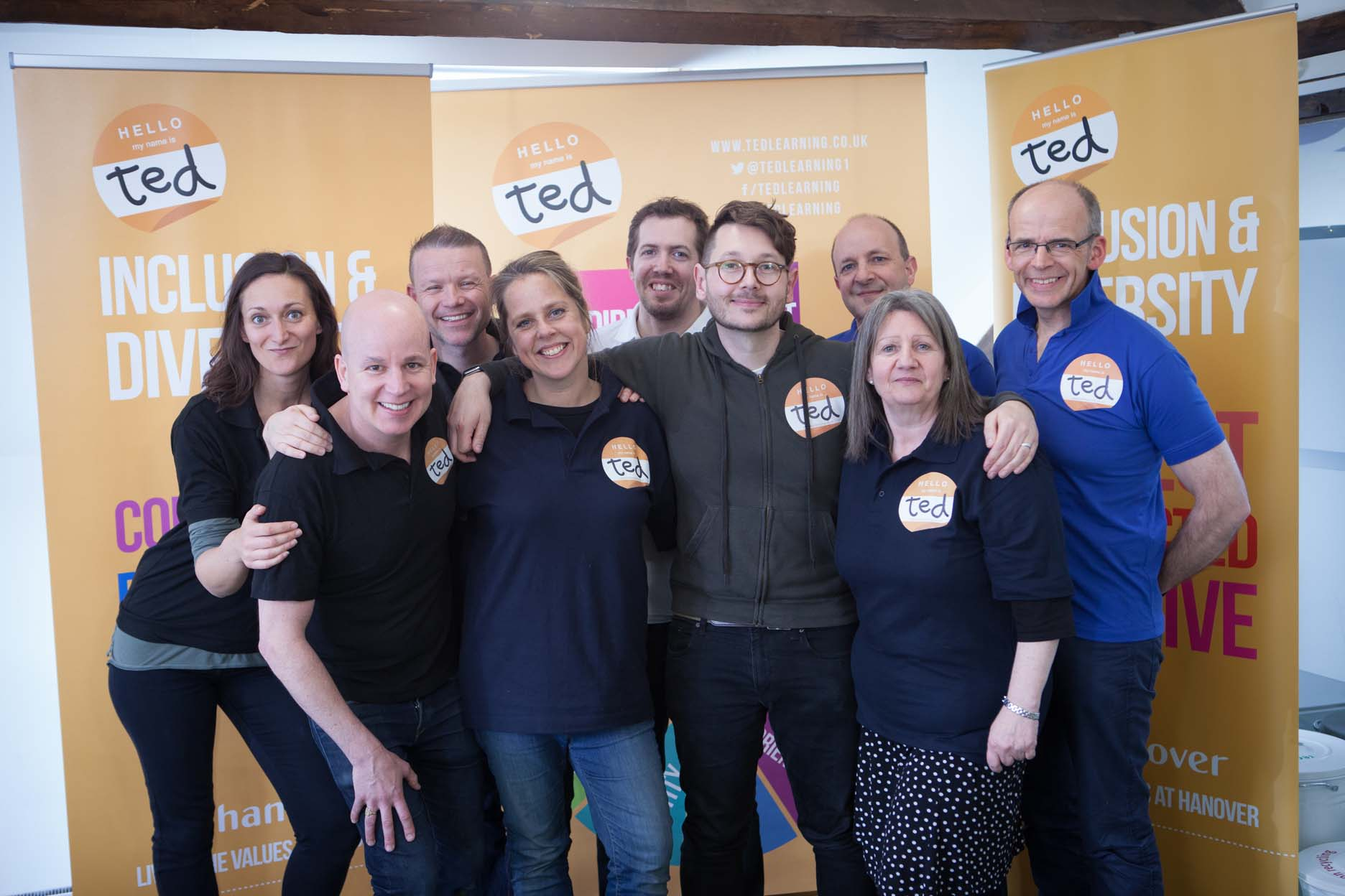 ted Learning - team working skills